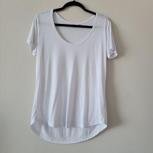 Talula short sleeves white t-shirt